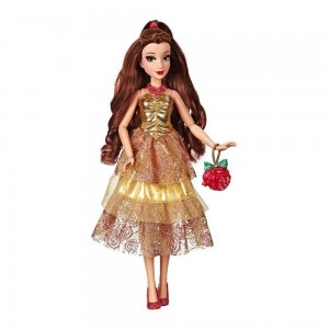 Black Friday 2020 | Disney Princess Style Series - Belle Doll in Contemporary Style with Purse & Shoes