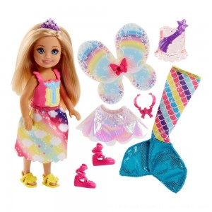 Black Friday 2020 | Barbie Dreamtopia Chelsea Doll and Fashions
