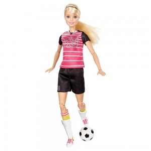 Black Friday 2020 | Barbie Made To Move Soccer Player Doll