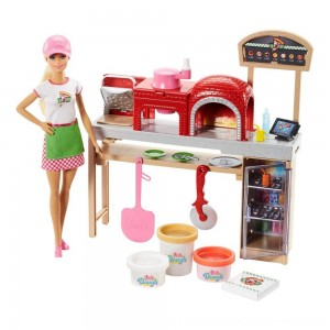 Black Friday 2020 | Barbie Careers Pizza Chef Doll and Playset