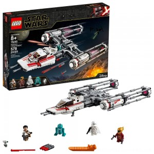 Black Friday 2020 | LEGO Star Wars: The Rise of Skywalker Resistance Y-Wing Starfighter 75249 New Advanced Collectible Starship Model Building Kit 578pc