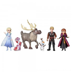 Black Friday 2020 | Disney Frozen 2 Adventure Collection, 5 Small Dolls from Frozen 2