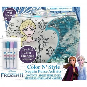 Black Friday 2020 | Disney Frozen 2 Color and Style Sequin Purse Activity Set