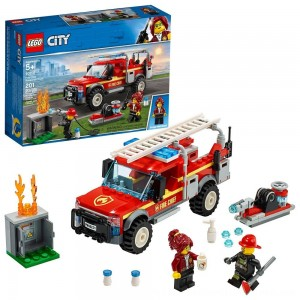 Black Friday 2020 | LEGO City Fire Chief Response Truck 60231 Building Set with Toy Firetruck and Ladder 201pc