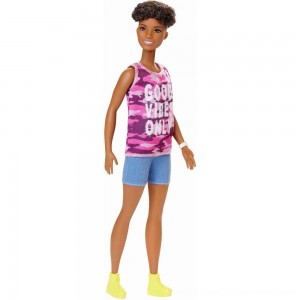 Black Friday 2020 | Barbie Fashionistas Doll #128 Good Vibes Only