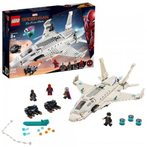Black Friday 2020 | LEGO Super Heroes Marvel Spider-Man Stark Jet and the Drone Attack 76130
