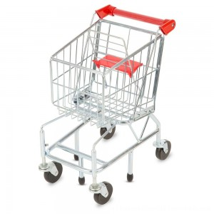Black Friday 2020 | Melissa & Doug Toy Shopping Cart With Sturdy Metal Frame