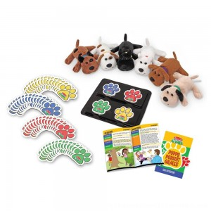 Black Friday 2020 | Melissa & Doug Puppy Pursuit Games - 6 Stuffed Dogs, 60 Cards - 10 Games With Variations