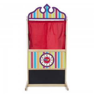 Black Friday 2020 | Melissa & Doug Deluxe Puppet Theater - Sturdy Wooden Construction