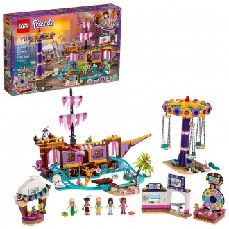 Black Friday 2020 | LEGO Friends Heartlake City Amusement Park with Toy Rollercoaster Building Set with Mini Dolls 41375