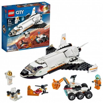 Black Friday 2020 | LEGO City Space Mars Research Shuttle 60226 Space Shuttle Toy Building Kit with Mars Rover