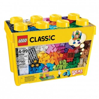 Black Friday 2020 | LEGO Classic Large Creative Brick Box 10698 Build Your Own Creative Toys, Kids Building Kit