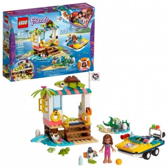 Black Friday 2020 | LEGO Friends Turtles Rescue Mission 41376 Building Kit Includes Toy Vehicle and Clinic 225pc