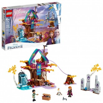 Black Friday 2020 | LEGO Disney Princess Frozen 2 Enchanted Treehouse 41164 Toy Treehouse Building Kit for Pretend Play