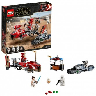 Black Friday 2020 | LEGO Star Wars: The Rise of Skywalker Pasaana Speeder Chase 75250 Hovering Transport Speeder Building Kit with Action Figures 373pc