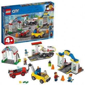Black Friday 2020 | LEGO City Garage Center 60232 Building Kit for Kids 4+ with Toy Vehicle 234pc