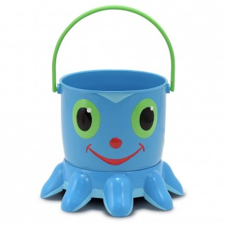 Black Friday 2020 | Melissa & Doug Sunny Patch Flex Octopus Sand Pail and Sifter