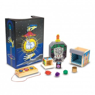 Black Friday 2020 | Melissa & Doug Discovery Magic Set With 4 Classic Tricks, Solid-Wood Construction
