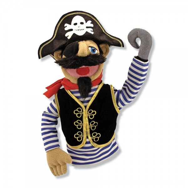 Black Friday 2020 | Melissa & Doug Pirate Puppet With Detachable Wooden Rod