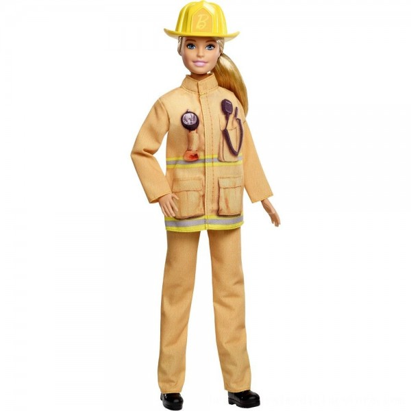 Black Friday 2020 | Barbie Careers 60th Anniversary Firefighter Doll