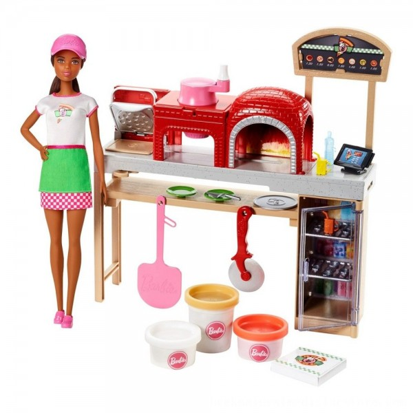 Black Friday 2020 | Barbie Careers Pizza Chef Nikki Doll and Playset