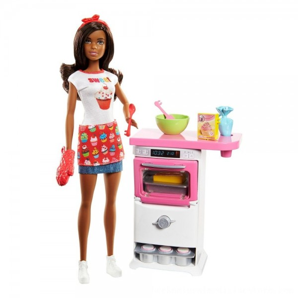 Black Friday 2020 | Barbie Bakery Chef Nikki Doll and Playset