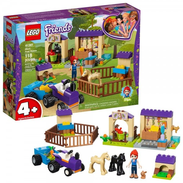 Black Friday 2020   LEGO Friends Mia's Foal Stable 41361