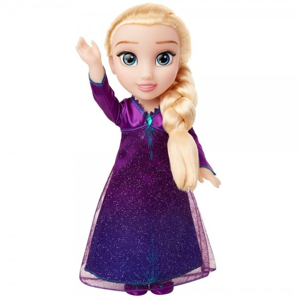 Black Friday 2020   Disney Frozen 2 Into The Unknown Singing Feature Elsa Doll