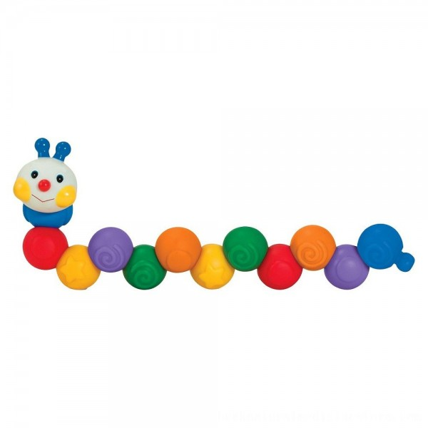 Black Friday 2020   Melissa & Doug K's Kids Build an Inchworm Snap-Together Soft Block Set for Baby - Linkable, Twistable, Stackable, Squeezable
