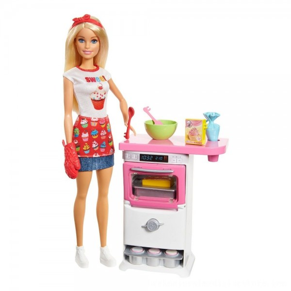 Black Friday 2020 | Barbie Careers Bakery Chef Doll and Playset