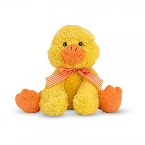 Black Friday 2020 | Melissa & Doug Meadow Medley Ducky Stuffed Animal With Quacking Sound Effect