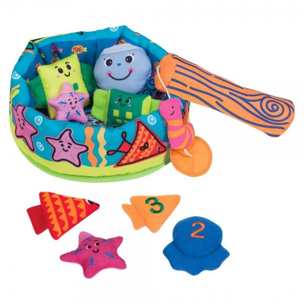 Black Friday 2020 | Melissa & Doug K's Kids Fish and ct Learning Game With 8 Numbered Fish to Catch and Release