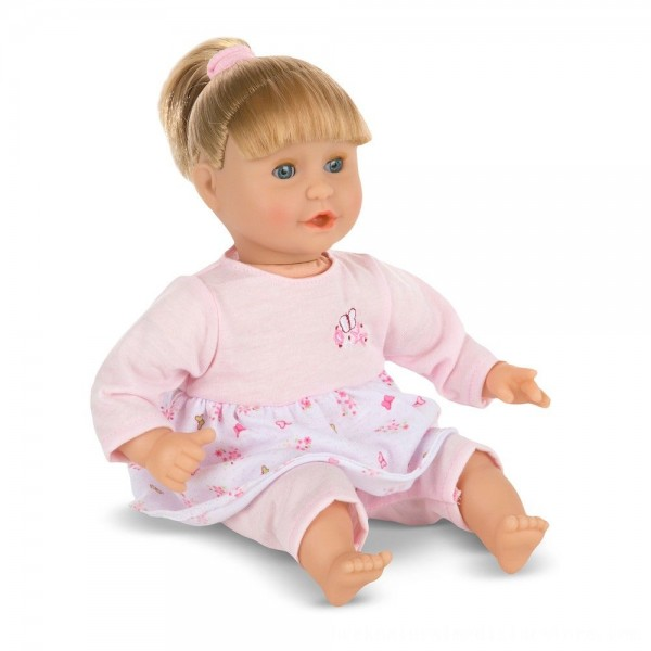Black Friday 2020 | Melissa & Doug Mine to Love Natalie 12-Inch Soft Body Baby Doll With Hair and Outfit