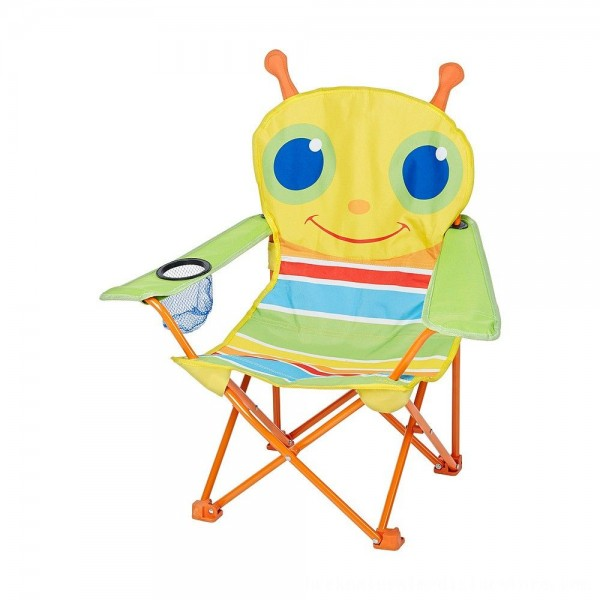 Black Friday 2020 | Melissa & Doug Sunny Patch Giddy Buggy Folding Lawn and Camping Chair